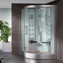2017 new design luxury steam shower enclosures bathroom steam shower cabins jetted massage walking-in sauna rooms ASTS1062(China)
