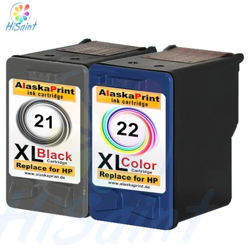2017 [Simon Hisaint INK ] 2 DRUCKER PATRONEN for HP21XL 22 XL DESKJET F370 F2280 F375 F2180 F380 F4180 F2224 Classic cartridges<br><br>Aliexpress