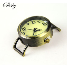 shsby Diy personality ancient bronze Watch header Arabic numerals circle watch table-core watchband Watch accessories wholesale(China)