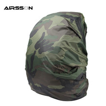30-40 L Practical Nylon Portable Waterproof Dustproof Backpack Bag Dust Mud Rain Cover for Travel Camping Hiking Games 5 Colors