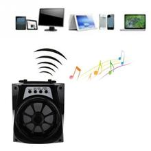 Outdoor Audio Amplifier Portable LED Bluetooth Speaker Wireless USB/TF/AUX/FM Radio Stereo Speakers