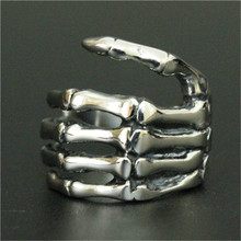 3pc/lot New Arrival Ghost Claw Ring 316L Stainless Steel Cool Men Boy Popular Claw Finger Ring(China)