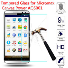 0.26mm Tempered Glass for Micromax Canvas Power AQ5001 / Juice 2 AQ5001 Explosion-proof Front LCD Film Screen Protector