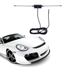 Car Digital TV Antenna 5ft In Car Radio Digital DVB-T ISDB-T TV Signal 6dBi Antenna 433MHZ + Amplifier(China)