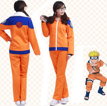 New Arrival Halloween Cosplay Costumes Uzumaki Naruto Jacket Suit Christmas Carnival Naruto Costume