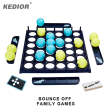 Kedior New Party Family Board Games Bounce-off Game Children Off Bounce Fun Competition Head Balls Novelty Funny Toys for Kids(China)