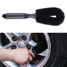 Car Motorcycle Wheel Tire Rim Scrub Brush Hub Clean Wash Useful Brush Car Truck Motorcycle Bike Washing Cleaning Tools Free Ship