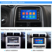 "Car-Styling 6.2"" 2 Din Car DVD USB SD Player GPS Navigation Bluetooth Radio Audio Multimedia With Camera"