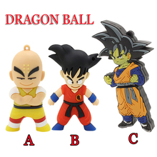 pen drive Goku Kuririn USB Flash Drive Memory Stick/thumb 4gb 8g 16g 32g 64g Dragon Ball flash Pendrive U Disk external storage