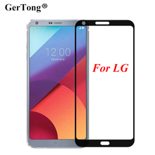 Buy Ultra-thin Full Cover Tempered Glass LG V10 V20 G6 K7 2016 K8 K10 2017 Anti-explosion Screen Protector Front Cover Film for $1.21 in AliExpress store