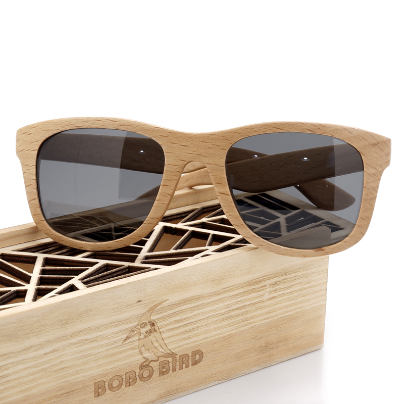BOBO BIRD Mens Retro Vintage Wood Sunglasses Women With Wooden Box Luxury Brand Polarized Wood Sunglasses for Gifts 2017<br><br>Aliexpress