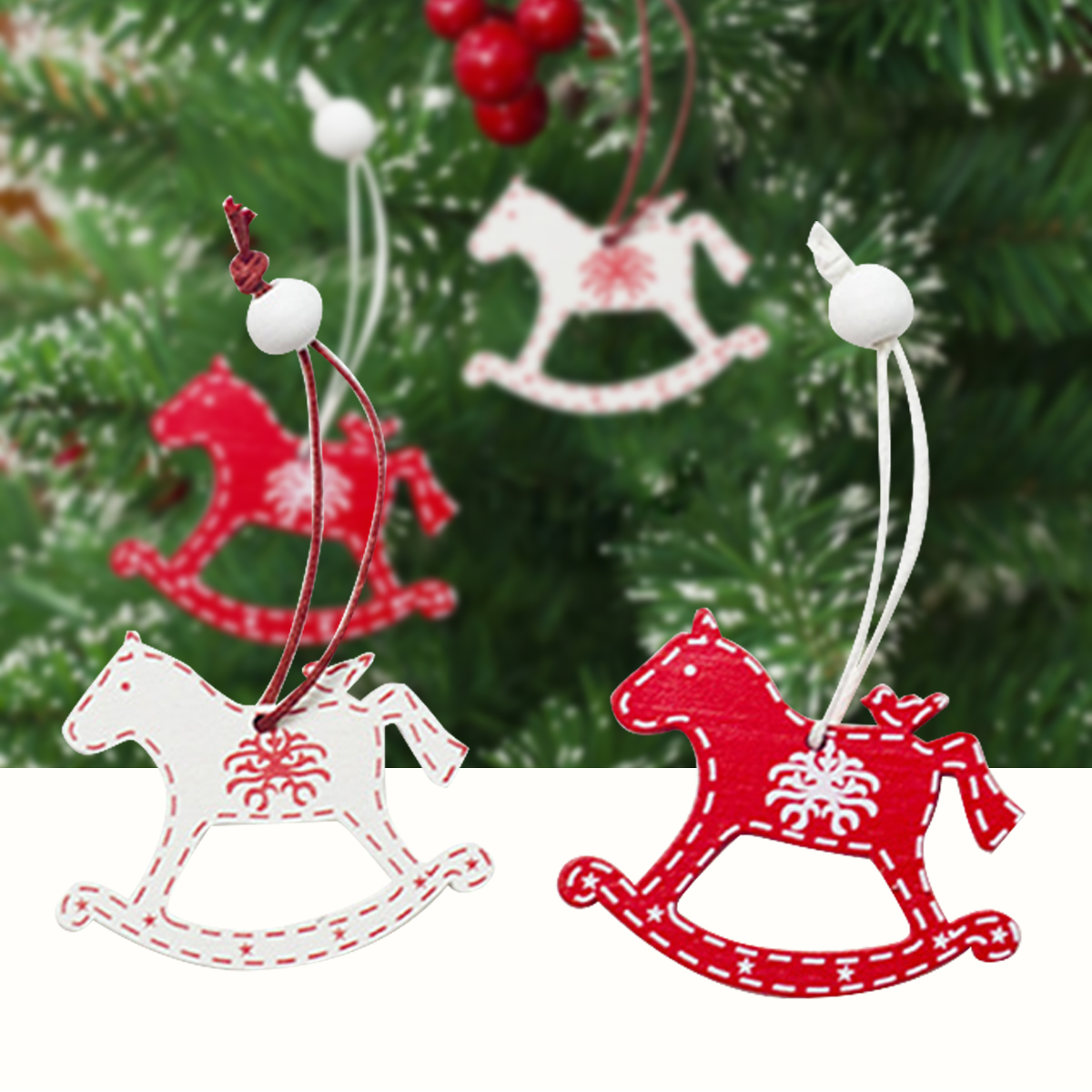 Party Supplies Diy Gifts Christmas Tree Decoration Wooden Ornaments Xmas Hanging Horse Drop Ornaments Discount Christmas Decorations Outdoor Discount Christmas Ornaments From Douglass 22 16 Dhgate Com