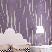 10M 3D modern luxury 3D wallpaper stripe wall paper papel de parede damask wall paper for living room bedroom TV sofa background