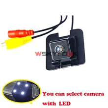 4led Car Rear View Reverse camera for Mercedes Benz C/E/S Class W204 W212 W221 Camera kit Night Vision(China)