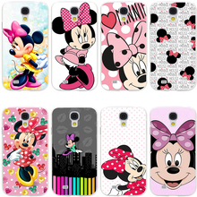 Minnie mouse Hard Transparent Cover Case for Galaxy S7 Edge S6 S8 Edge Plus S5 S4 S3 & Mini S2
