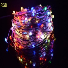 5M Copper Wire LED starry lights led String, wedding light,crystal led,Christmas LED STAR tape ,home garden docoration for party(China)