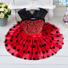 Free shipping,2017 new kids christmas minnie party unusual costumes cosplay girls ballet dress,girls clothes,3-7 years old