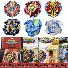 8 Stye Arena Metal Top Beyblade burst Toupie Fusion 4D Masters Launcher For Children Christmas finger spiners Fidget spinner Toy(China)