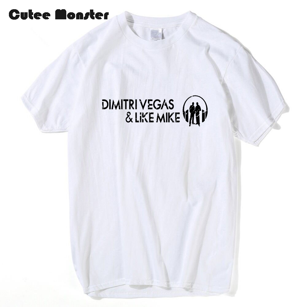 Dimitri Vegas And Like Mike T shirt Russia Music Band Smash The House Letter Printed Tops Men Short Sleeve Hip Hop Tees Clothing
