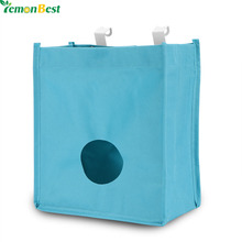 Durable Hangable K Kitchen Cupboard Garbage Hanging Storage Bag For The Sundries Disposable Bag Kitchen Accessories