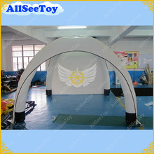 White 3m by 3m Inflatable Tent for Events,Free Shipping,Air Sealed Type Easy to Install Air Pump Included