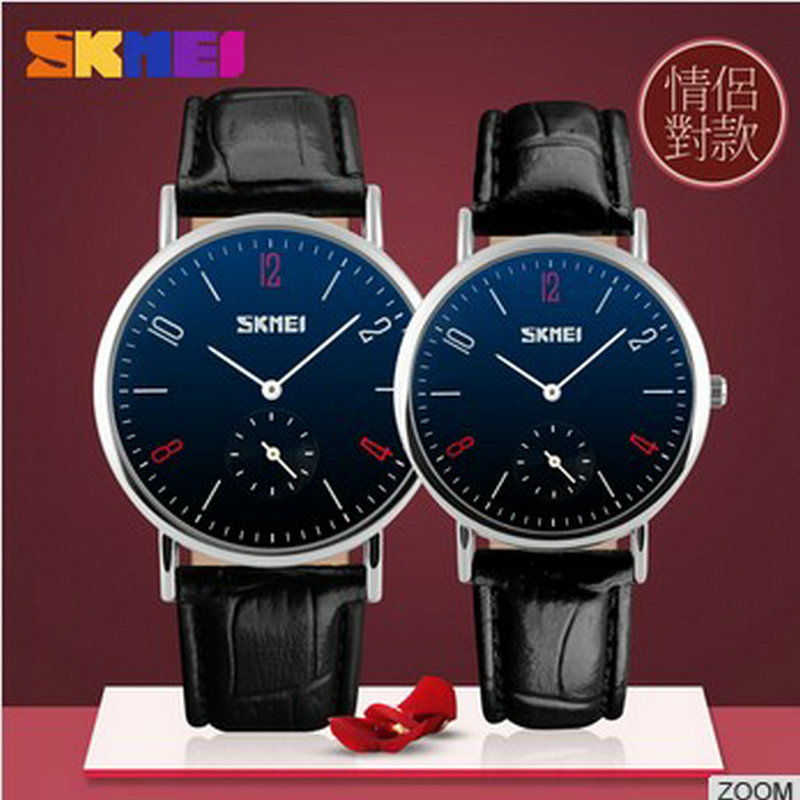 Lovers Gift Stainless Steel Back Chinese Wholesale Beautiful Couple Watches<br><br>Aliexpress