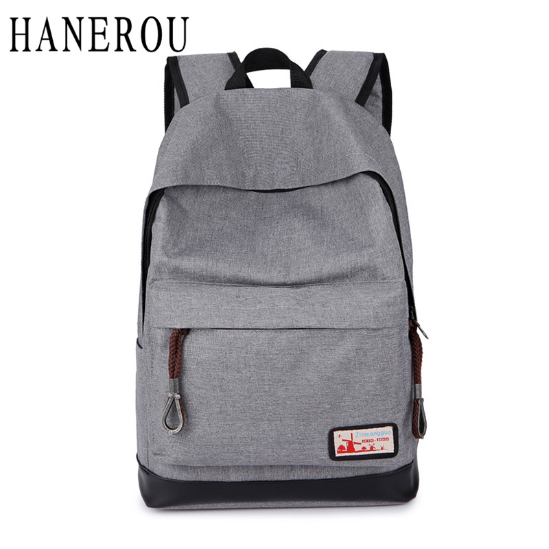 Preppy Style Backpack Men Big Capacity School Bags For Teenagers Casual Travel Bag Famous Brand Deaigner Canvas Sac A Dos Canvas<br><br>Aliexpress