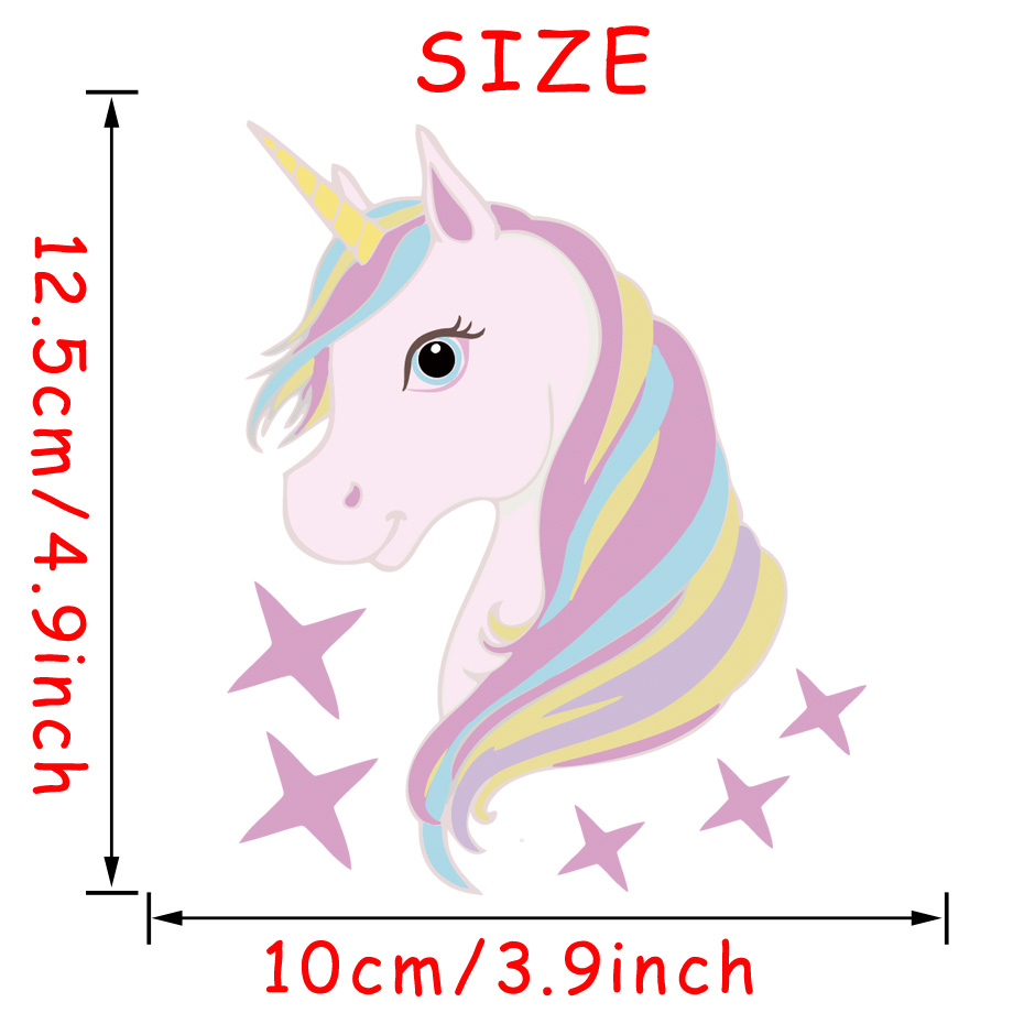HTB1BWowiZrI8KJjy0Fhq6zfnpXaT - Cute Horse Fairy Girl Light Switch Sticker For Kids Girls Bedroom - Free Shipping