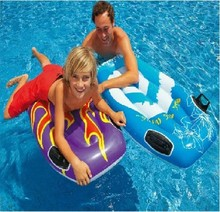 Inflatable Floating Surfboard Floating Water Bed  Swimming Bodyboard Beach Water Sports for Adult