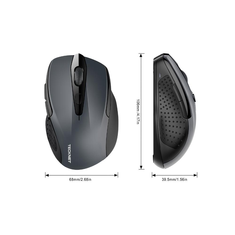 Lihtne must juhtmevaba hiir