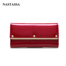 Women Wallet Female Cow Leather Clutch Bags Genuine Leather Women Purses Fashion Long Style Evening Bags Cell Phone Handbags(China)
