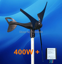 400W Wind Generator Power 12V System with Controller included(China)