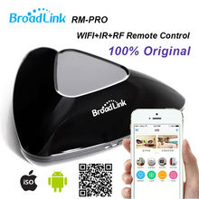 Broadlink RM3 PRO,Smart Home Wireless Remote Controller, Support IOS/Android, Wifi IR/RF Intelligent for Remote Control Switch(China)