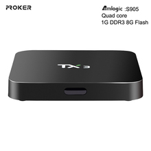 TV BOX New TX3 Android 5.1 TV Box DDR3 1G Flash 8G Amlogic S905 Set top Box IPTV Support DLAN Media Player