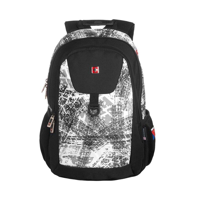 Swisswin Brand Fashion Daily Backpack Waterproof Fashion Small Ergonomic Bookbag For Teenage Boys and Girls small backpack<br>