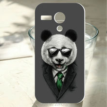 For Motorola Moto G Case New Cover G2 G3 G4 G5 G6 plus Z play X X2 Agent Panda Design hard pc plastic mobile Phone case