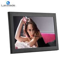 Lanmade 14inch IPS LCD Monitor with HDMI+VGA+DVI work with HD media player screen display