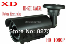 Free shipping for HD SDI Camera 1080p CCD camera support 60meters IR Distance, camera 1080p IMX322 SDI CAMERA(China)