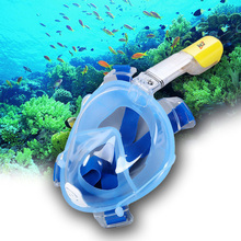 Hot RKD Diving Mask Full Face Snorkeling Mask Set Swimming Training Scuba Mask Anti Fog for Gopro Camera Adjustable Headband