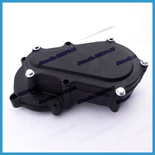Double Chain Clutch Drum Gear Box For 47cc 49cc 2 stroke High quality dirt bike engine parts Quad ATV Buggy Go kart