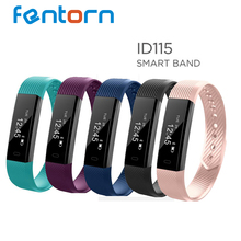 Fentorn ID115 Sports Smart band call message reminder Steps calorie activities Fitness Tracker Wristband Bracelet for smartphone