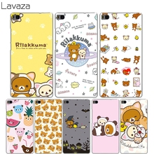 Lavaza funny cute cartoon Rilakkuma Cover Case for Huawei P8 lite P8lite P 8 lite Coque Shell Cases(China)