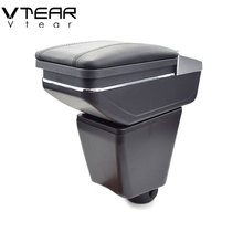 Vtear For Renault Captur QM3 armrest box central Store content box cup holder interior car-styling products accessory 14-17