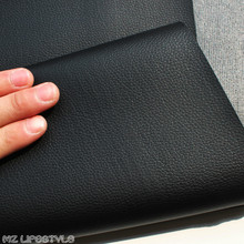 50x138cm Black PVC leather  Faux Leather Fabric for Sewing, artificial leather for DIY bag material 0.6mm