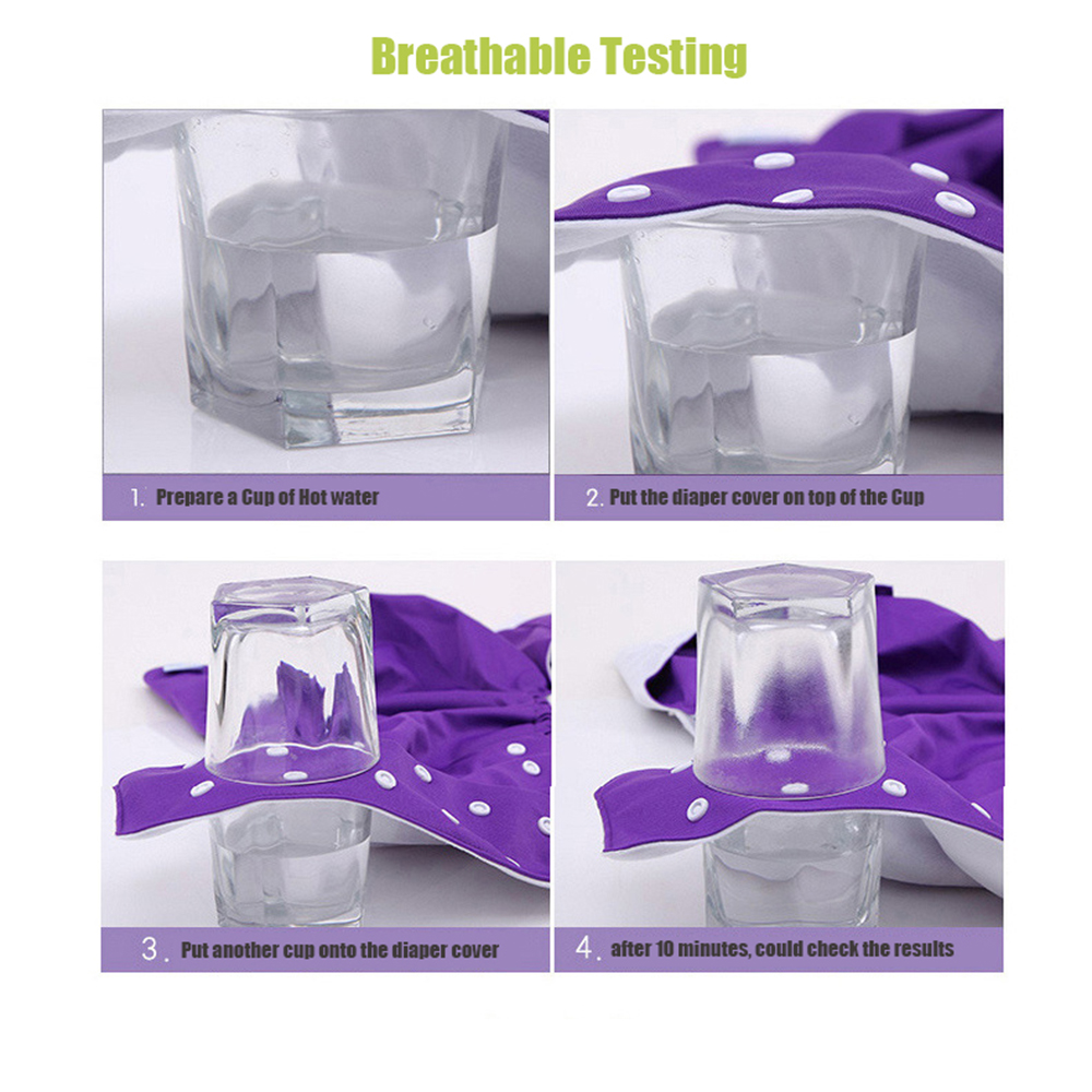 Breathable testing