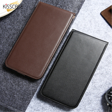 KISSCASE For Samsung Galaxy S3 S4 S5 Leather Phone Case For Samsung Galaxy S8 Plus S7 S6 Edge Plus Vertical Flip Cover Bags Case(China)