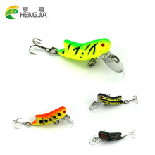 HENGJIA 1pc 4.1g 4.5cm Insect fly Fishing Lure Perch pesca isca artificial Locust Cricket Lure Treble Barb Hook Fishing Tackle