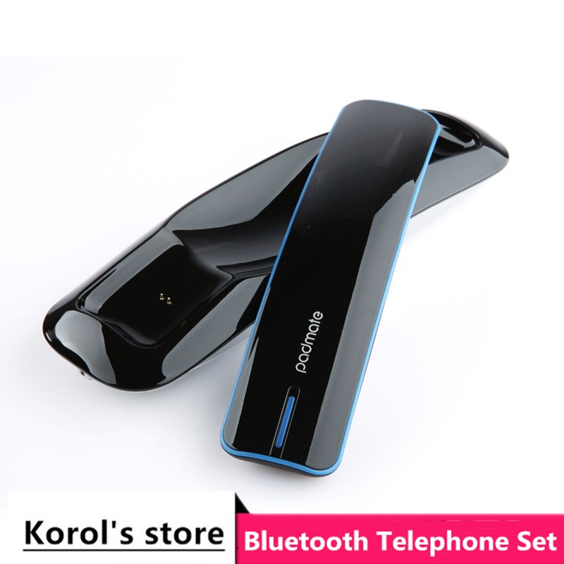 Newest anti-radiation Retro phone handset Innovation One To Two Bluetooth Wireless earphone fully support bluetooth cell phone(China)