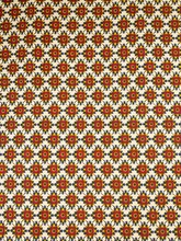 Safari Print Fabrics Real Hollandais Wax Beige Red Flower Designs Clothes rw8017904(China)