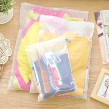14*20cm Cosmetic Practical Portable Matte Clear Plastic Travel Organizer Bag Waterproof Travel Accessories Storage Ziplock Bags(China)